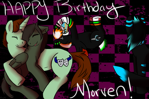 Morven's bday! by Anchoring-Dreams