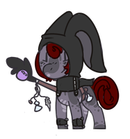 Bunny mage pony adopt auction. - OPEN- by OfficerMittens