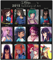 2015 Art Summary by Zethya