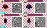 Animal Crossing New Leaf QR: Martian Manhunter by ShinigamiKant