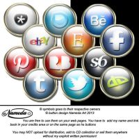 web buttons by Nameda by Nameda