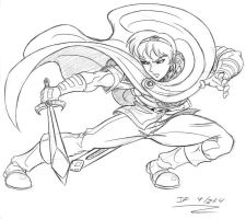Marth sketch by Shikamaru-Trunks