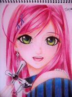 Moka close up (colored pencils) by ELJOEYDESIGNS