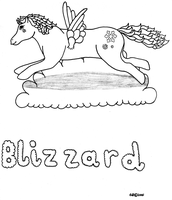 OLD: Blizzard MLP by VioletWhirlwind