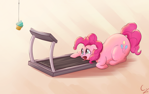 Treadmill Pinkie by C-adepsy