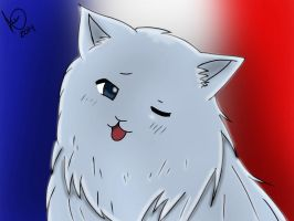France Cat by LucyXxNyuu13