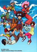 Digimon Adventure tribute by Kell0x