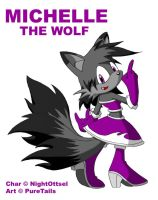 Michelle_the_Wolf by Puretails