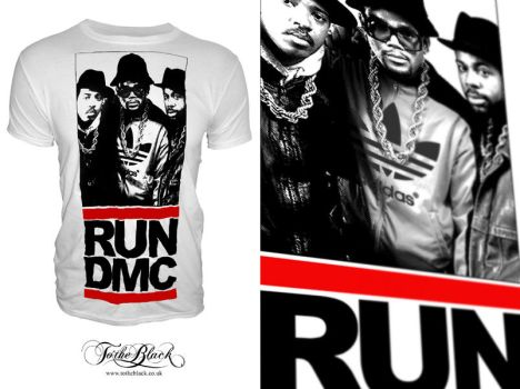 RUN DMC T Shirt design by troostar