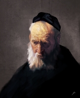 Rembrandt Master Study by chadlindall