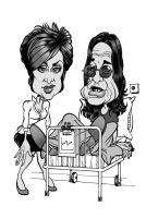 Sharon and Ozzy by HowardMolloy