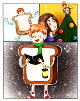 Christmas GingerBread Man by SuppieChan