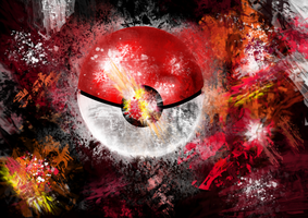 Pokeball by Donnerstern