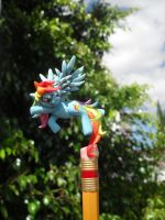 my litlte little little pony rainbow dash by JOPUTAPELIRROJO