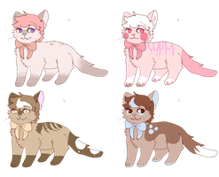 Cat Adoptables Open by werewolf-png