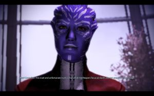 ME3 Citadel - Councilor Tevos by chicksaw2002