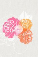 Roses by Cocorrina Iphone Lockscreen by cocorie