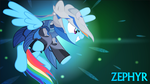 Warframe - Zephyr Rainbow Dash by Yudhaikeledai