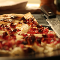 Flammkuchen - tarte flambee --- Food Project 2012 by barkingbeagle