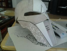 SWTOR Sith Acolyte Cosplay mask by SonAlexander