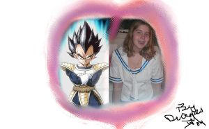 prince vegeta lover by DrCropes