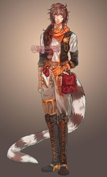Custom character for Aulianna by ilaBarattolo