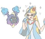 Marie meets Cosmog (Poke AU) by BishiLover16