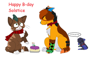 Happy B-day Solstice by nikkithedog3
