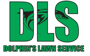 Dolphin Lawn Service Logo 2 by TheManAtFireOnFire