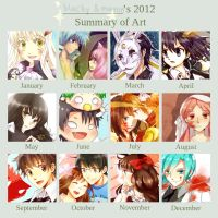 2012 Art Summary by magonpoll24