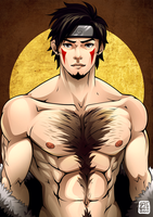 Shirtless Ninja : Kiba by goyong
