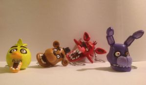 Five Nights At Freddy's: head chains by Spectral-Beanie