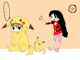 pikachu And May by Xuchihaanime