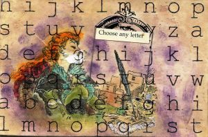 Choose Any Letter Postcard by LauraTringaliHolmes