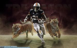 Tre Mason Auburn Tigers Wallpaper by Sanoinoi