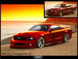 Ford Mustang Gt by Dj-HeAt