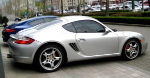 Silver Cayman Roadster by toyonda