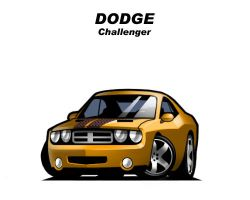 Chibi Dodge Challenger by CGVickers