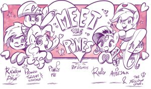 Meet The Pones by Dilarus