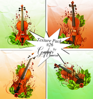 Texture Pack #26 Violins by Graphic's Universe by GraphicsUniverse