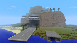 Minecraft - Tracy Island by Ludolik