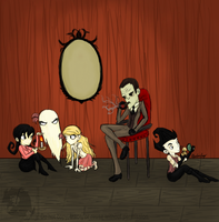 Fake Family by PhantasmicDream