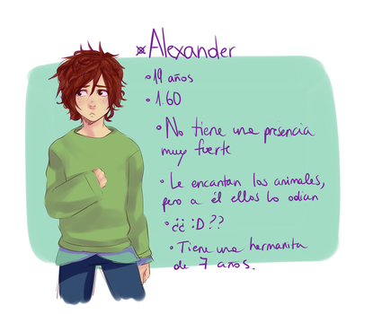 Alexander by AlaineAsh