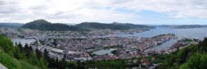 Panorama Views of Bergen by Bull04