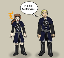 Team Sirius outfits by pan77155