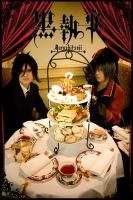 Black Butler - Afternoon tea by kaworu0926
