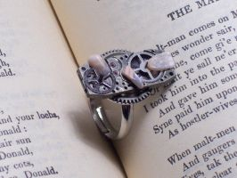 Moon Machine Ring by LeviathanSteamworks
