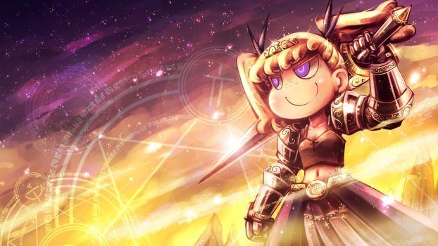 Sight of the Magic Knight by Porforever
