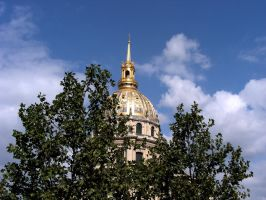 Napoleon's tomb's dome by MaryAnnBubna