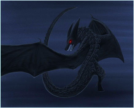 TheBlackDragon by Sparkgon